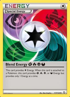 Blend Energy GrassFirePsychicDarkness