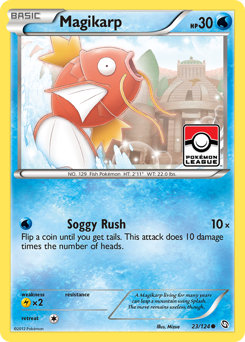 Magikarp card for Dragons Exalted