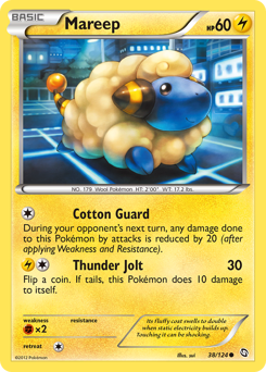 Mareep card for Dragons Exalted