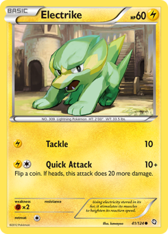 Electrike card for Dragons Exalted