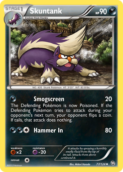 Skuntank card for Dragons Exalted