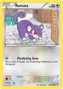 Rattata card for Boundaries Crossed