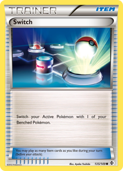 Switch card for Boundaries Crossed