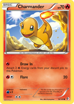 Charmander card for Boundaries Crossed