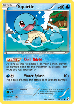 Squirtle card for Boundaries Crossed