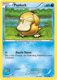 Psyduck card for Boundaries Crossed