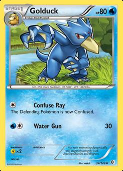 Golduck card for Boundaries Crossed