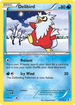 Delibird card for Boundaries Crossed