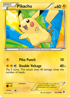 Pikachu card for Boundaries Crossed