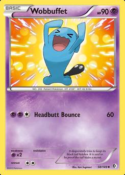 Wobbuffet card for Boundaries Crossed