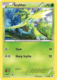 Scyther card for Boundaries Crossed