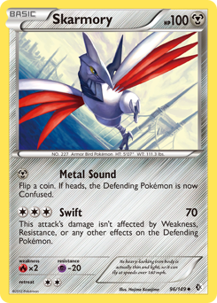 Skarmory card for Boundaries Crossed