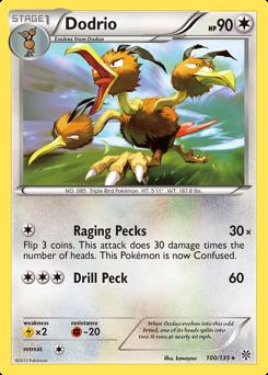 Dodrio card for Plasma Storm