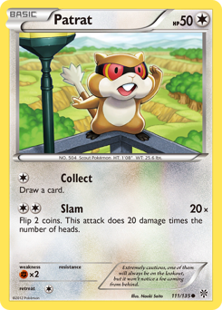 Patrat card for Plasma Storm