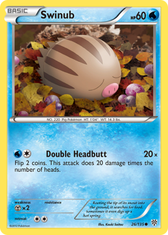Swinub card for Plasma Storm