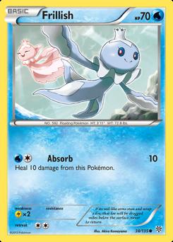 Frillish card for Plasma Storm