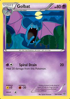 Golbat card for Plasma Storm