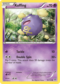 Koffing card for Plasma Storm
