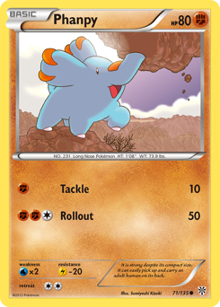 Phanpy card for Plasma Storm