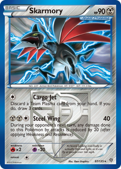 Skarmory card for Plasma Storm