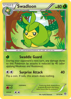 Swadloon card for Plasma Storm
