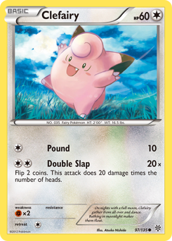 Clefairy card for Plasma Storm