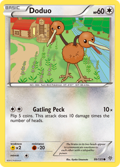 Doduo card for Plasma Storm