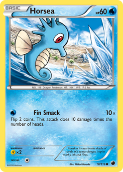 Horsea card for Plasma Freeze