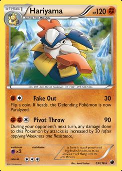Hariyama card for Plasma Freeze