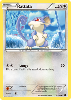 Rattata card for Plasma Freeze