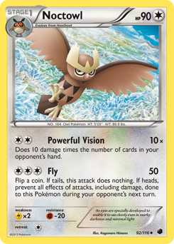 Noctowl card for Plasma Freeze