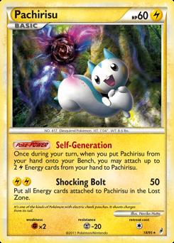 Pachirisu card for Call of Legends