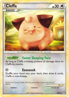 Cleffa card for Call of Legends