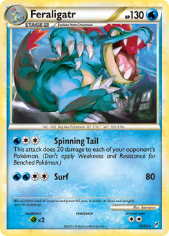 Feraligatr card for Call of Legends