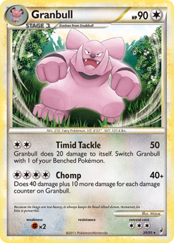 Granbull card for Call of Legends