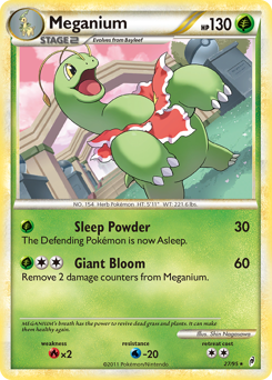Meganium card for Call of Legends