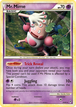 Mr. Mime card for Call of Legends