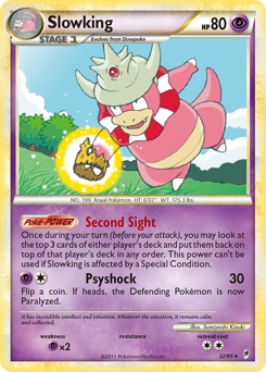 Slowking card for Call of Legends