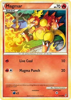 Magmar card for Call of Legends