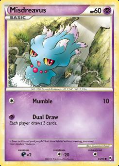 Misdreavus card for Call of Legends