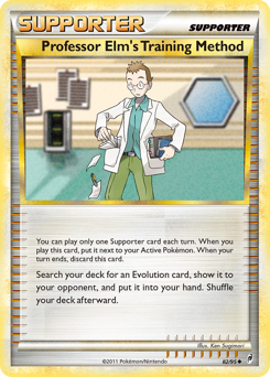 Professor Elm's Training Method card for Call of Legends