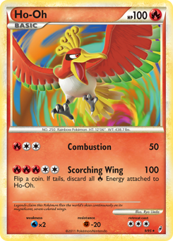 Ho-Oh card for Call of Legends