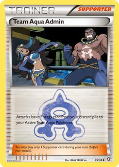 Team Aqua Admin
