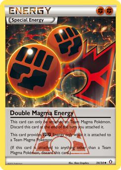 Double Magma Energy
