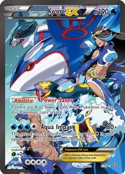 Team Aqua's Kyogre-ex