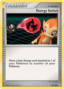 Energy Switch card for Diamond & Pearl