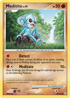 Meditite card for Diamond & Pearl