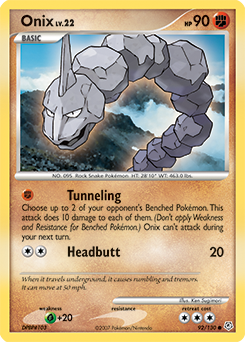 Onix card for Diamond & Pearl