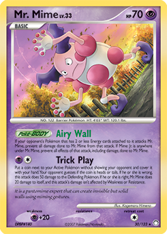 Mr. Mime card for Mysterious Treasures