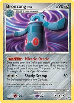Bronzong card for Mysterious Treasures